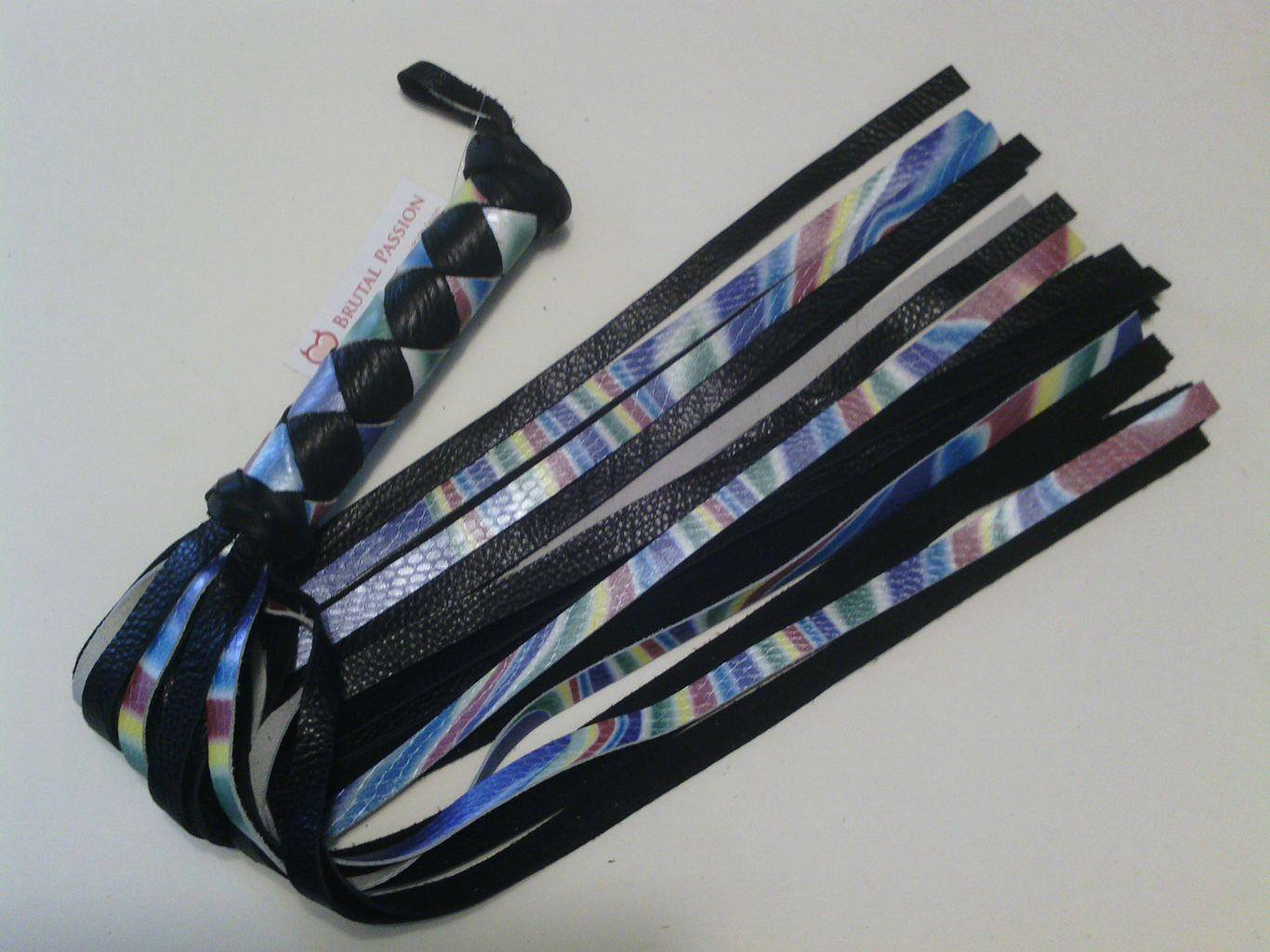 Custom rainbow flogger made for CIN